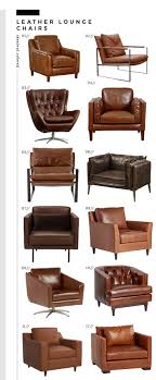 Roundup : Leather Lounge Chairs - Room For Tuesday Mies Van Der Rohe Krefeld Lounge Chair Butterfly Camel Leather Suede Mid Century Modern Leather Chair Keylocationsco Set Falcon Chairs Or Easy By Sigurd Ressell Chelsea Living Room Shop Online At Overstock Husband And Wife Team Combine To Create Onic Lounge The Alex Leatherette Recliner Sofa 3 Seater In Color Midcenturymodern German Swivel 1960s Pernilla In Colored Tufted Bruno Mathsson For Dux Elephant Dark Stained Vintage