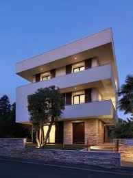 100 Modern Italian House Designs Maze House With Geometric Exterior Sliding Interior Walls