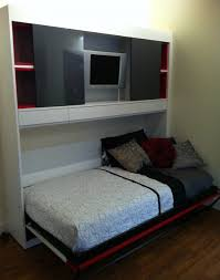 Living Room Inspiring Murphy Beds For Living Room With White