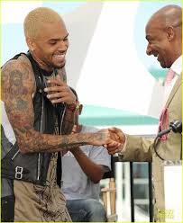 Chris Brown BET Awards Press Conference Photo 2870301