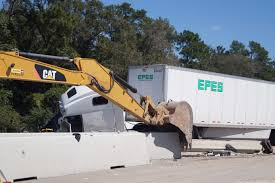 100 Interstate Truck Equipment Two Vehicle Wreck Causes Delays Near I10 And FM 1442 Orange