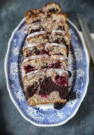 rezept für nusskuchen marmorkuchen mit brombeeren hazelnut cocoa marble loaf cake with