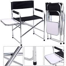 Convenience Boutique|Camping Aluminum Folding Chair With Side Table Directors Chairs With Folding Side Table Youtube Mings Mark Stylish Camping Brown Full Back Chair Costway Compact Alinum Cup Deluxe Tall Director W And Holder Side Table Cooler Old Man Emu Adventure 4x4 With Black 156743 Rv Outdoor Meerkat Bushtec Heavy Duty Marquee Alinium Home Portable Pnic Set Double Chairumbrellatable Blue Shop Outsunny Steel Camp