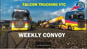 100 Falcon Trucking Weekly Convoy YouTube