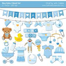 Baby Boy Clipart Boy Baby Shower clipart Instant Download