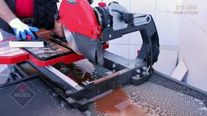 Husqvarna Tile Saw Canada by Rubi Dt 250 Evolution Wet Tile Saw Youtube