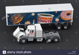 Dunkin Donuts Collector Toy Di Cast Truck Semi Tractor Trailer ... 64 Intertional Prostar Truck W Spread Axle Canvas Trailer Matchbox Jim Beam 200th Anniversary Tractor Ebay Toy Semi Stock Photos 33 Images And Flat Grandpas Toys 187 Die Cast Man With Freezer Trailerpromotion Trucks N Stuff Ho Sp026 Kenworth W900l Sleeper Cab With 53 Moving Majorette Nasa Car Big Rig Milk Walmartcom Farm Peterbilt 367 Lowboy Lp67438 132 Semis Action Dunkin Donuts Collector Toy Di Cast Truck Semi Tractor Trailer