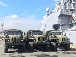 Russia Hands Over 5,000 Assault Rifles, Trucks, Helmets To Duterte ... Good Grow Russian Army Truck Youtube Scania Named Truck Of The Year 2017 In Russia Group Ends Tightened Customs Checks On Lithuian Trucks En15minlt 12 That Are Pride Automobile Industry 1970s Zil130 Dumper Varadero Cuba Flickr Compilation Extreme Cditions 2 Maz 504 Classical Mod For Ets And Tent In A Steppe Landscape Editorial Image No Road Required Legendary Maker Wows With New Design 8x8 Bugout The Avtoros Shaman Recoil Offgrid American Simulator And Cars Download Ats