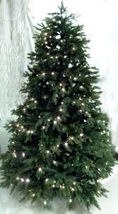 PreLit Monterey Fir Artificial Christmas Tree With 180 Warm White Artificial Pre Lit Christmas Trees Uk