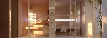 logica sauna and hammam seamlessly adapts to spa spaces