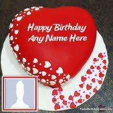 Download Romantic Birthday Cake With Name