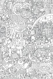 Coloring Pages For Christmas Free Printable Detailed Shopkins