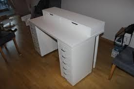 furniture makeup desk ikea for a feminine appeal threestems com