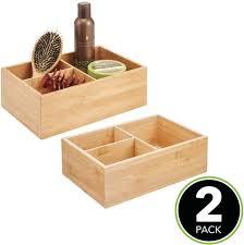 mdesign 2er set badezimmer organizer elegante box zur