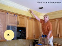 Kitchen Soffit Painting Ideas by What To Do With Kitchen Soffits The Colorful Beethe Colorful Bee