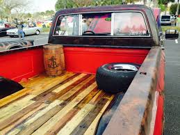 Pallet Wood Truck Bed, And