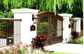 Iron Gates And Fences Designs | Interesting Ideas For Home Front Doors Gorgeous Door Gate Design For Modern Home Plan Of Iron Fence Best Tremendous Rod Gates 12538 Exterior Awesome Entrance And Decoration Using Light Clever Designs Homes Homesfeed Hot Simple In Kerala Addition To Firstrate 1000 Ideas Stesyllabus Concrete Driveway Automatic Openers With