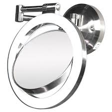 lights bathroom makeup mirror wall mount lighted reviews mounted