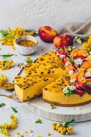 mango maracuja cheesecake torte