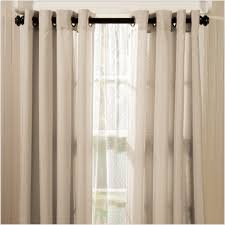 decor cream penneys curtains with black curtain rods for elegant