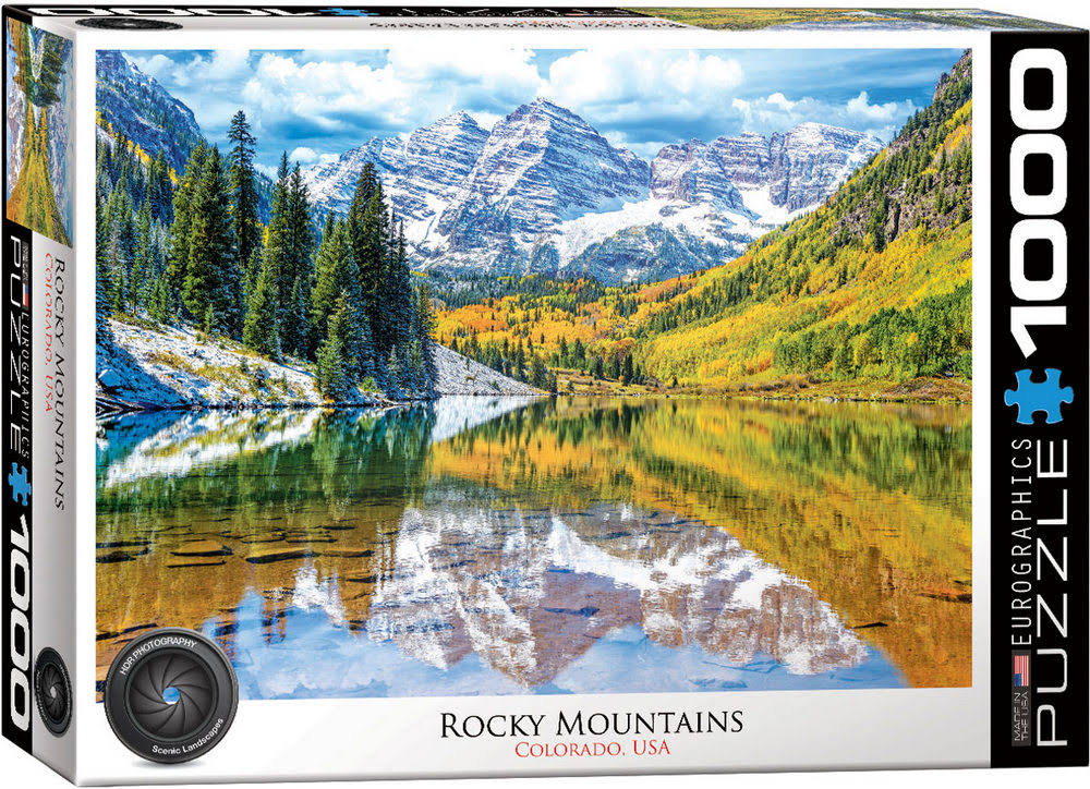 Eurographics Rocky Mountain National Park 1000 Piece Puzzle