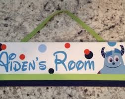 Monsters Inc Baby Bedding by Disney Monsters Etsy