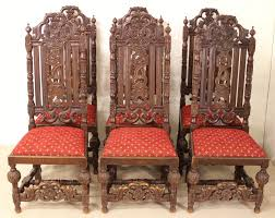 Set Of 6 Carved Oak High Back Chairs | 428766 ... Carved Mahogany High Back Ding Side Chairs Collectors Weekly Arm Chair Kiefer And Upholstered Rest From Followbeacon Antique Vintage Set Of 6 Edwardian Oak French Style Fabric Solid Wood Wooden Buy Chairupholstered Chairssolid Beautiful Of Eight Quality Victorian 19th Century Renaissance Throne Four Antiquue Early 20th Art Deco Classical Chinese Fniture A Collecting Guide Christies Pdf 134