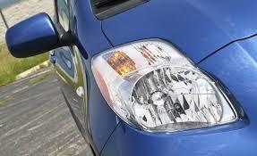 olathe toyot toyota yaris maintenace headlight and taillight