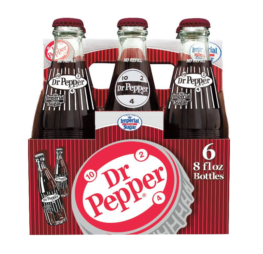 Dr Pepper - 8oz, 6pk
