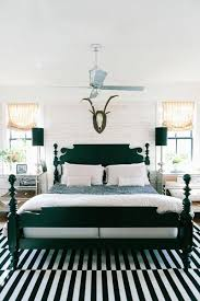 Decorate With A Black And White Striped Carpet To Give Your Bedroom Some Modern Flair Pair The Rug Matching Bed Frame