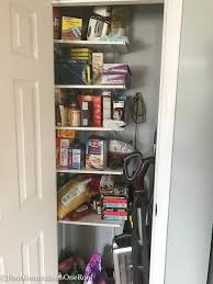 DIY Kitchen Closet Pantry How To Turn A Small Into Storage