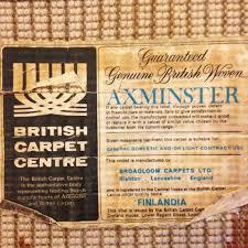 British Carpet by Rya Rug Chachacha Vintage