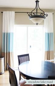 Curtains With Grommets Diy by Beautifully Idea Color Block Curtains Color Block Drape With