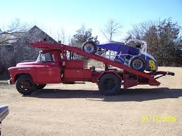 100 Ramp Truck Car Hauler History Old Race Car Haulers Any Pictures The HAMB
