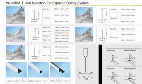 usg plane t grid donn suspension systems buy usg ceiling t grid