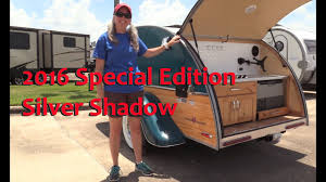 RV Tour: 2016 Little Guy Silver Shadow Teardrop Camper | RV Texas ...