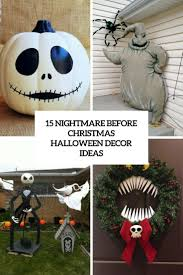 Nightmare Before Christmas Halloween Decorations Outdoor by 15 Nightmare Before Christmas Halloween Decor Ideas Shelterness