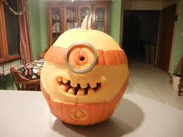 Minion Pumpkin Carving Designs by Minion Punpkin By Art By Joe Jones