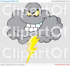 PNG File Has A Lightning Storm Clipart