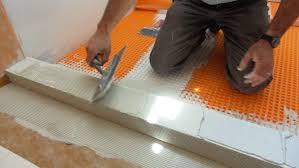 installing the curb for a tile shower jlc shower tile