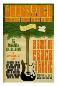 Woodstock Poster Iconic Photos Vintage Music Posters Hippies Musicians The Age Hippie Flower Children