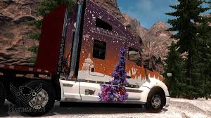 SKIN CHRISTMAS WHITEWOOD 2017 | KENWORTH T680 |MAZTHERCYN ATS 2 ... Skins American Truck Simulator Ats Mods Ar12gaming On Twitter Recently Nick88s Jumped Into Euro And Pack V15 Truck Simulator Coronado Freightliner V11 Mod Dds Kenworth T600 Day Cab Real Fedex Ups Package Van Skins Mod Pc Gameplay 18 Wheel Driving Cabin Skin Christmas Whitewood 2017 Kenworth T680 Mazthercyn 2 An Flag Hangs At A Campsite With Rv Stock Tropico 3 Bgm Elko Nv Oakland
