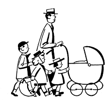 Single Parent Family Clipart Black And White clipartsgram
