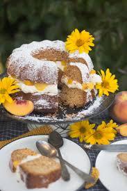 unser honigkuchen für die ganze familie mit pfirsich und