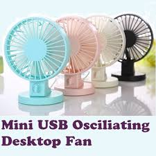 Battery Operated Desk Fan Nz by Qoo10 Mini Usb Osciliating Desktop Fan Muji Design Handfan