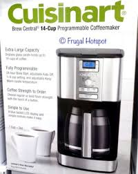 Cuisinart Brew Central 14 Cup Coffee Maker At Costco