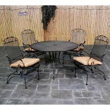 Meadowcraft Patio Furniture Dealers by Bordeaux Wrought Iron Dining Patio Furniture By Meadowcraft