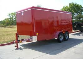 7ftX16ft Classic Dome Roof Cargo Trailer