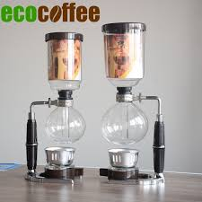 Japanese Style Vacuum Siphon Coffee Syphon Machine For Tca 3 Percolators Diy Eco Friendly