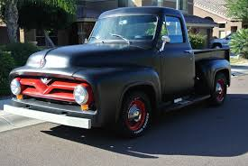 1954 FORD F100 SHORT BED BLACK HOTROD RESTOMOD F-100 F1 SHOP TRUCK ... The Mid50s Ford F100 Was A Mean Ride For Sale 1955 Pickup Completely Original Unstored Courier Wikipedia For Sale Near Fort Worth Texas 76137 Classics On Blue Front Angle Panel Truck Hot Rod Network Ford Stepside Pickup Service Truck Project Runs Visual History Of The Bestselling Fseries Affordable Vintage Ruelspotcom Tempe Arizona 85284 Classic 566 Dyler